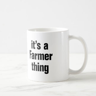 its a farmer thing basic white mug