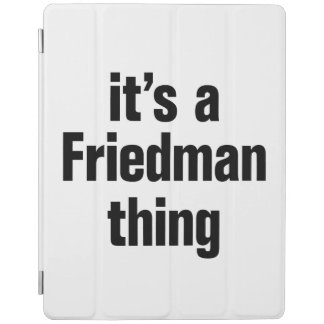 its a friedman thing iPad cover