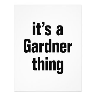 its a gardner thing 21.5 cm x 28 cm flyer