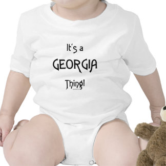 It's a Georgia Thing! Baby Bodysuits