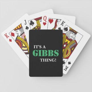 IT'S A GIBBS THING! CARD DECKS