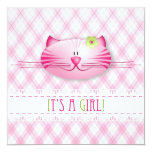 It's A Girl! Announcement card