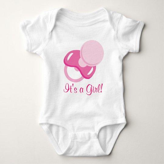 It's a Girl Baby Girl Design Baby Bodysuit