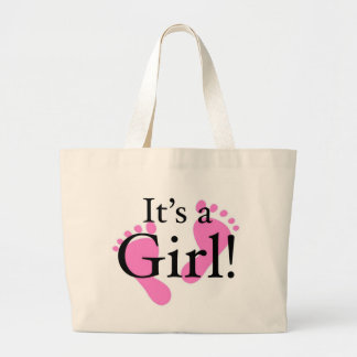 Its a Girl - Baby, Newborn, Baby Shower Tote Bags