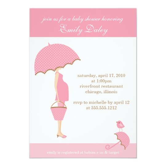 {it's a girl!} baby shower invitation