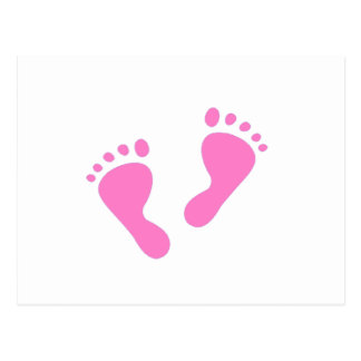Its a Girl - Baby Shower, Newborn Postcard