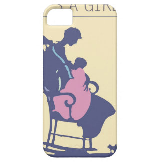 <It's a Girl> by Steve Collier iPhone 5 Covers