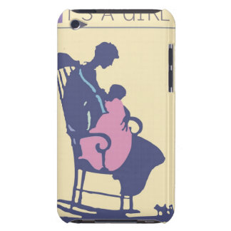 <It's a Girl> by Steve Collier iPod Touch Cases