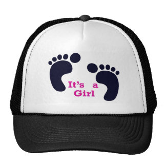its a girl trucker hat