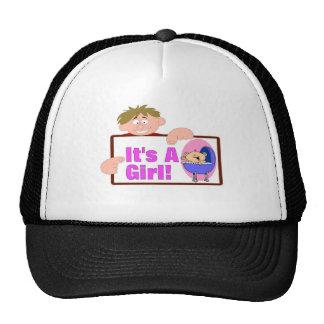 It's A Girl Trucker Hats