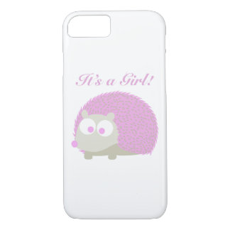 It's a girl! Hedgehog iPhone 7 Case