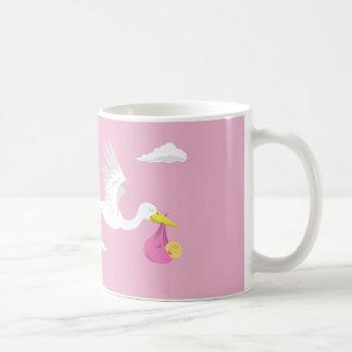 It's a Girl! Basic White Mug