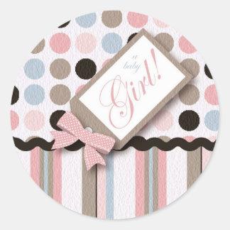 It's A Girl! Sticker