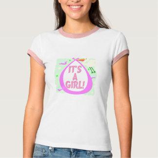 Its A Girl! (Stork) T-Shirt