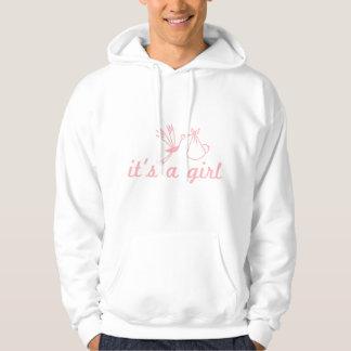 It's a girl sweatshirt