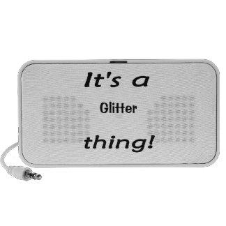 It's a glitter thing! mp3 speaker