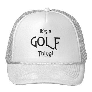 It's a Golf Thing! Cap