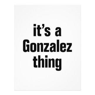 "its a gonzalez thing 8.5"" x 11"" flyer"