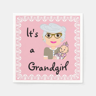 It's a Grandgirl Napkins Disposable Serviette