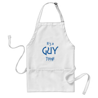 It's a Guy Thing! Standard Apron