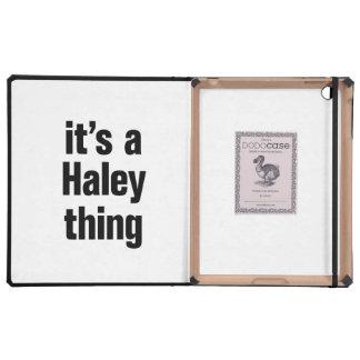its a haley thing iPad folio case