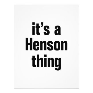 its a henson thing 21.5 cm x 28 cm flyer