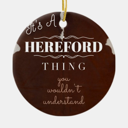 It's a Hereford Thing You Wouldn't Understand Christmas