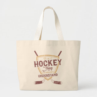 It's a Hockey Thing Grocery Bag