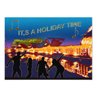 IT'S A HOLIDAY TIME CARD