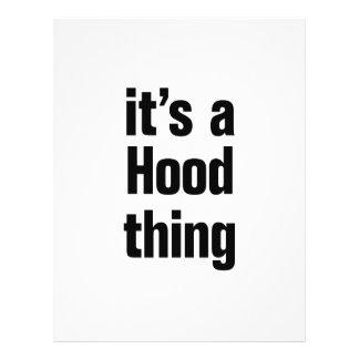 its a hood thing 21.5 cm x 28 cm flyer