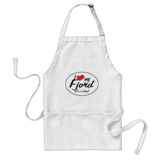 It's a Horse! I Love My Fjord Standard Apron