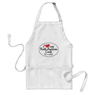 It's a Horse! I Love My North American Curly Standard Apron