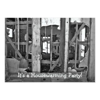 It's a Housewarming Party! destroyed house invites