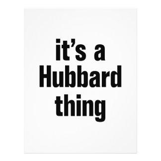 its a hubbard thing 21.5 cm x 28 cm flyer