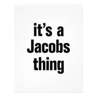 its a jacobs thing 21.5 cm x 28 cm flyer