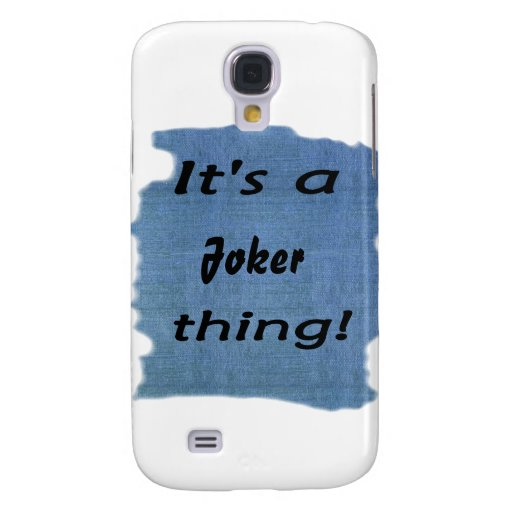 It's a Joker thing! Samsung Galaxy S4 Covers