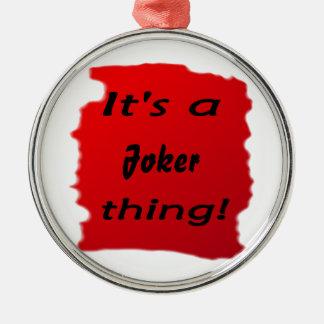 It's a joker thing! christmas tree ornaments