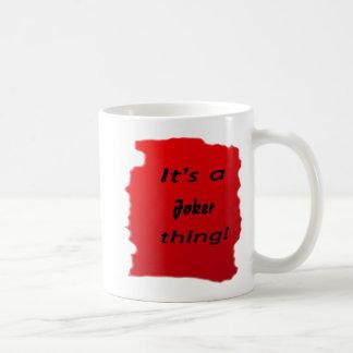 It's a joker thing! mugs