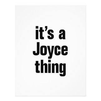 its a joyce thing 21.5 cm x 28 cm flyer
