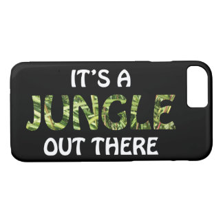 IT'S A JUNGLE OUT THERE iPhone 8/7 CASE