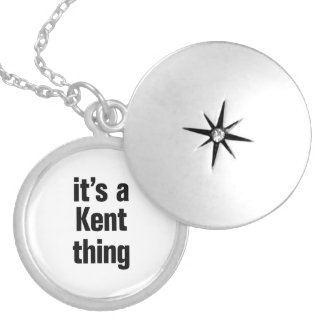 its a kent thing round locket necklace