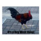 It's a Key West thing! Postcard