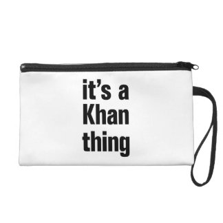 its a khan thing wristlets