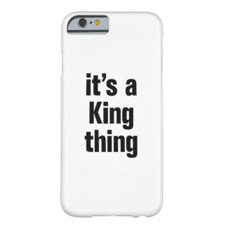 its a king thing barely there iPhone 6 case