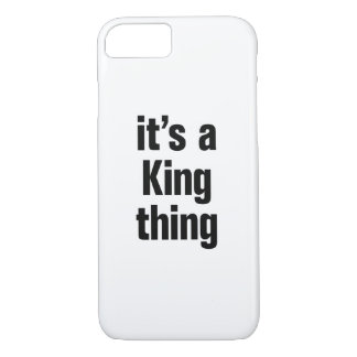 its a king thing iPhone 7 case