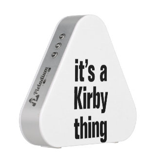 its a kirby thing