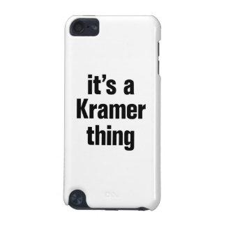 its a krammer thing iPod touch 5G cases