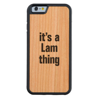 its a lam thing cherry iPhone 6 bumper