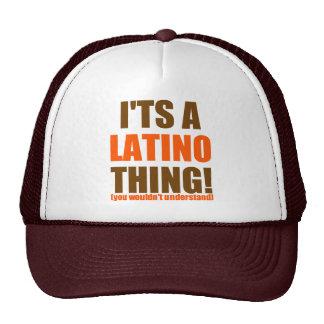 It's a Latino thing! Trucker Hats