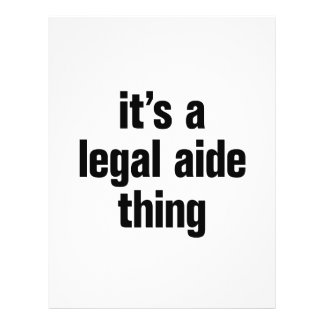 """its a legal aide thing 8.5"""" x 11"""" flyer"""